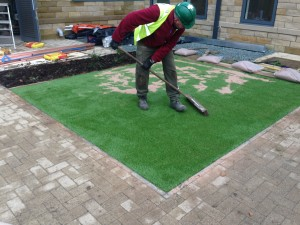 Artificial Lawn Installation